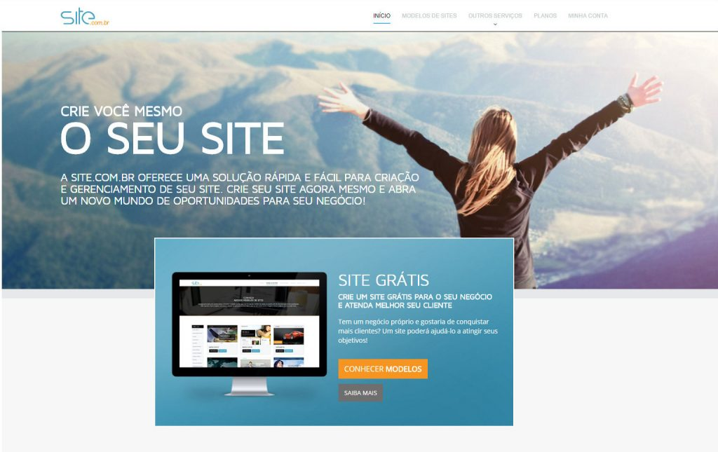Site.com.br - One of the greatest players in the websites builders market in Brazil